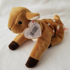 TY Whisper The Deer Fawn #4194 1997, VTG